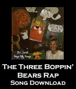 The Three Boppin' Bears Rap Song Download with Lyrics
