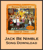 Jack Be Nimble Song Download with Lyrics