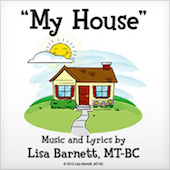 My House Downloadable DIY Ebook with Song