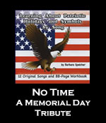 No Time: A Memorial Day Tribute Song Download with Printables