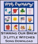 Stirring Our Brew & 3 Little Witches Song Download with Lyrics