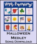 Halloween Medley Song Download with Lyrics