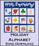 Holiday Alphabet Song Download with Lyrics