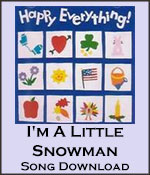 I'm A Little Snowman Song Download with Lyrics