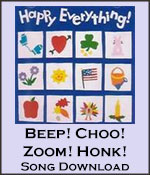 Beep! Choo! Zoom! Honk! Song Download with Lyrics