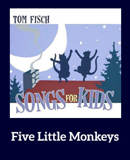 Five Little Monkeys Song Download with Lyrics