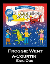 Froggie Went A-Courtin' Song Download with Lyrics