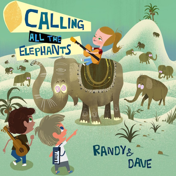 Calling All The Elephants CD with Lyrics